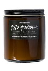 Sugi tree studio Wood Wick Candle - Hello Handsome