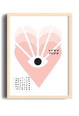 Toffie L'Affichiste Print Love Vision - 8''x10''