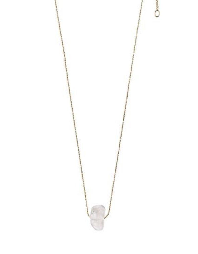 Pilgrim Crown Chakra Necklace - Quartz Crystal