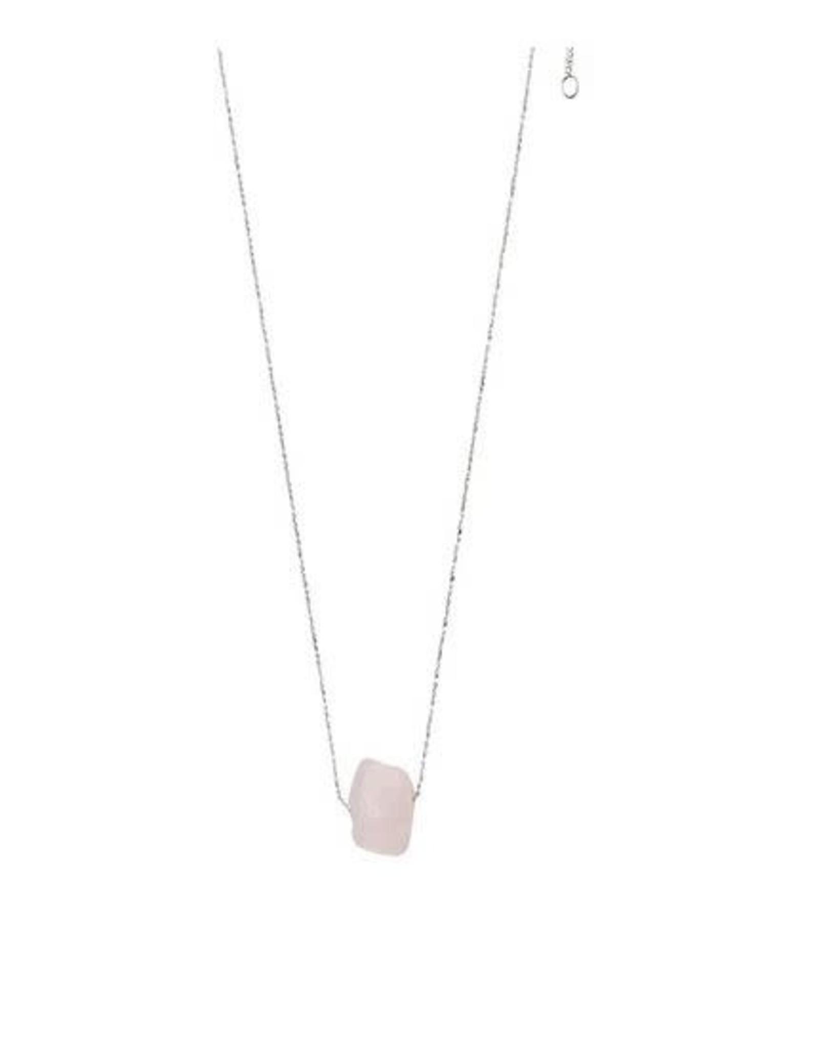Pilgrim Heart Chakra Necklace - Rose Quartz
