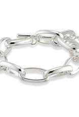 Pilgrim Bracelet Rán - Silver Plated