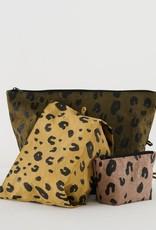 Baggu Go Pouch Set of 3 - Leopard