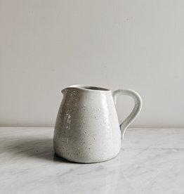 Stoneware Pitcher -  Cream