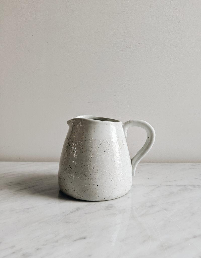 Pichet en Grès - Fini Crème