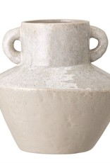 Stoneware Vase with Handles