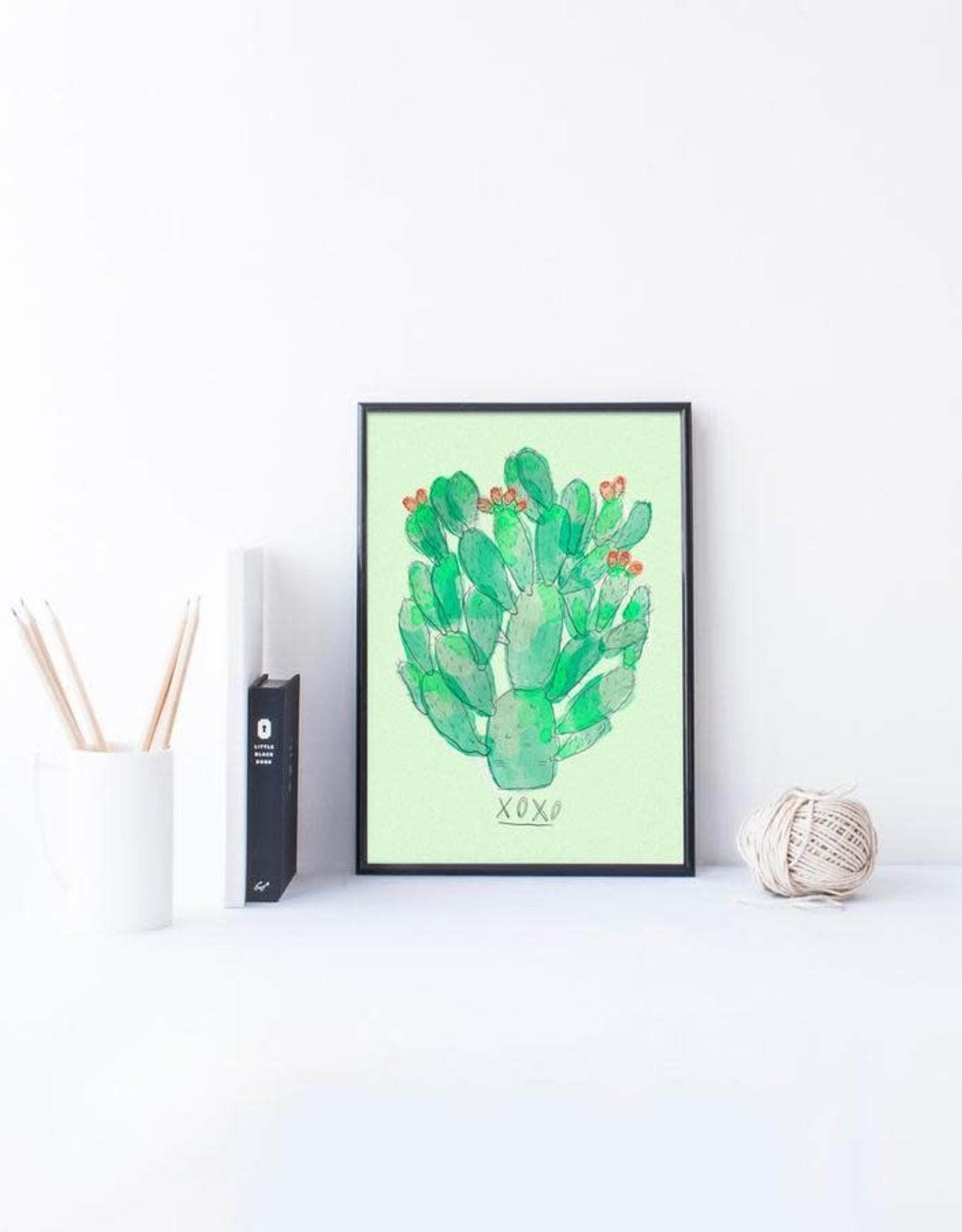 Baltic Club Art Print - Cactus 8''x10''