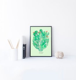 Baltic Club Illustration - Cactus 8''x10''