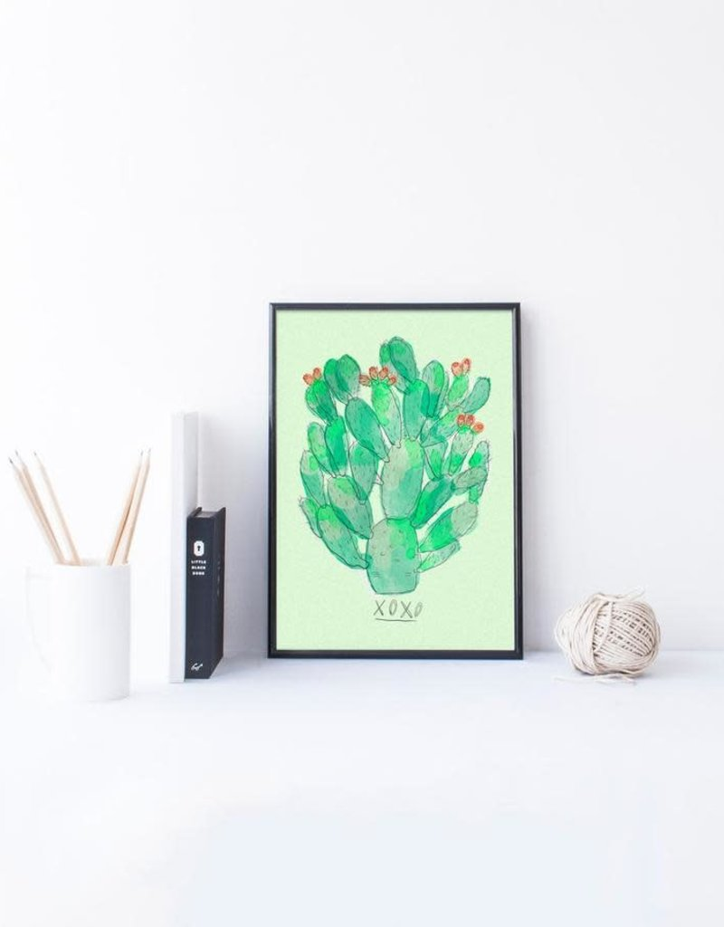 Baltic Club Illustration - Cactus 8''x10''