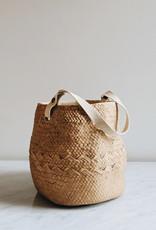 Cement Pot With Cotton Handle