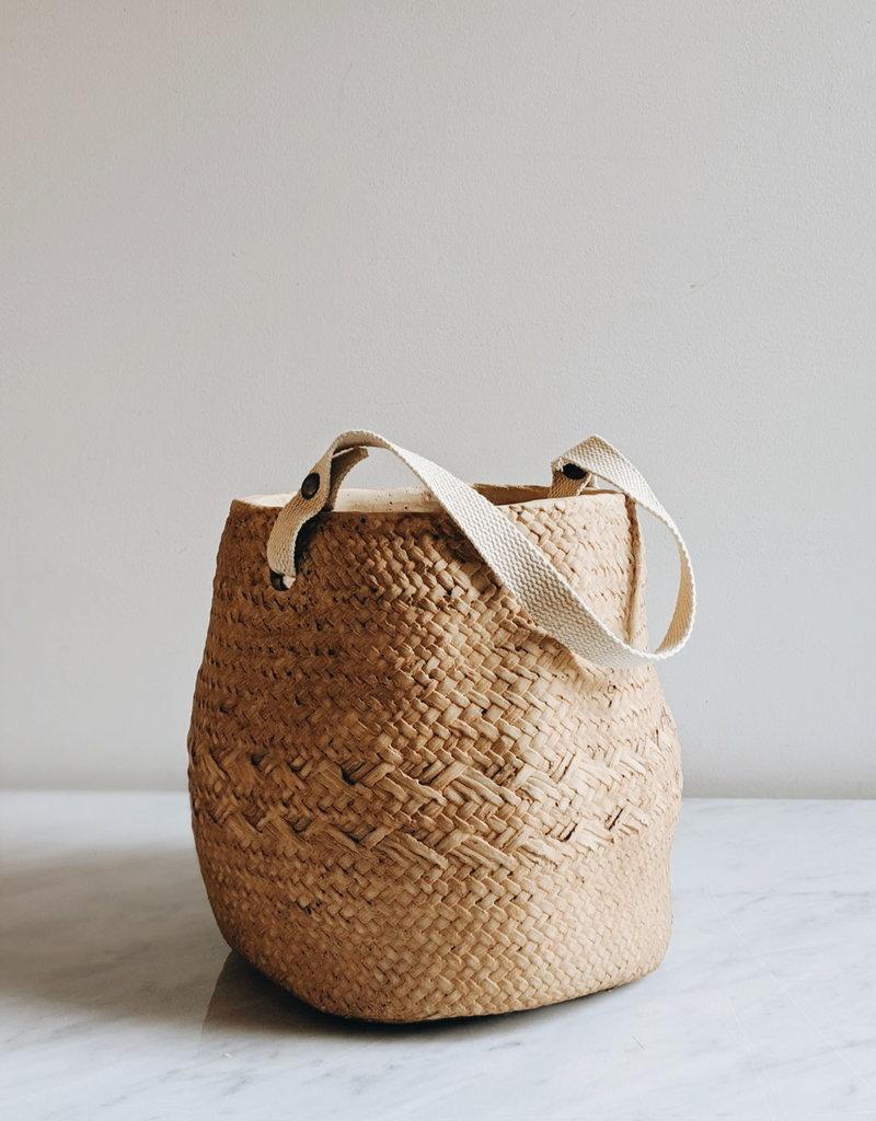 Pot Ciment avec Poignée Coton
