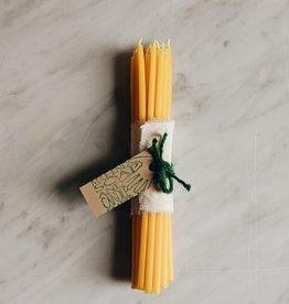 Mile End Soap & Candle Chandelles d'Anniversaire Cire d'Abeille 7'' - Paquet de 20