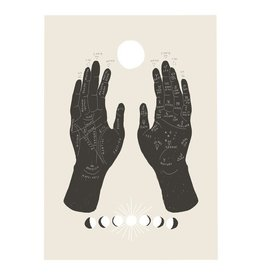 Baltic Club Palmistry Art Print - 8''x10''