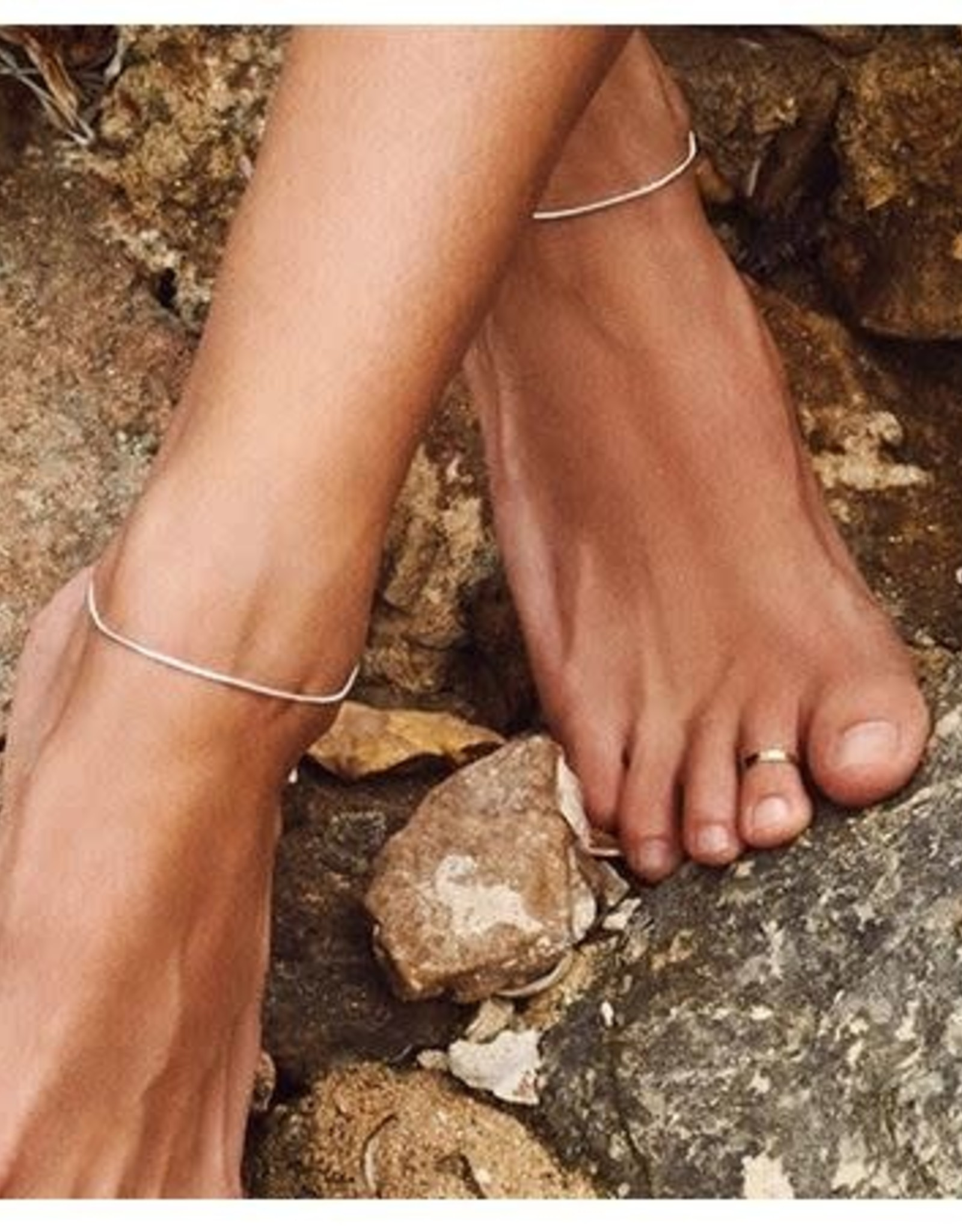 Pilgrim Ankle Chain - Silver Plated