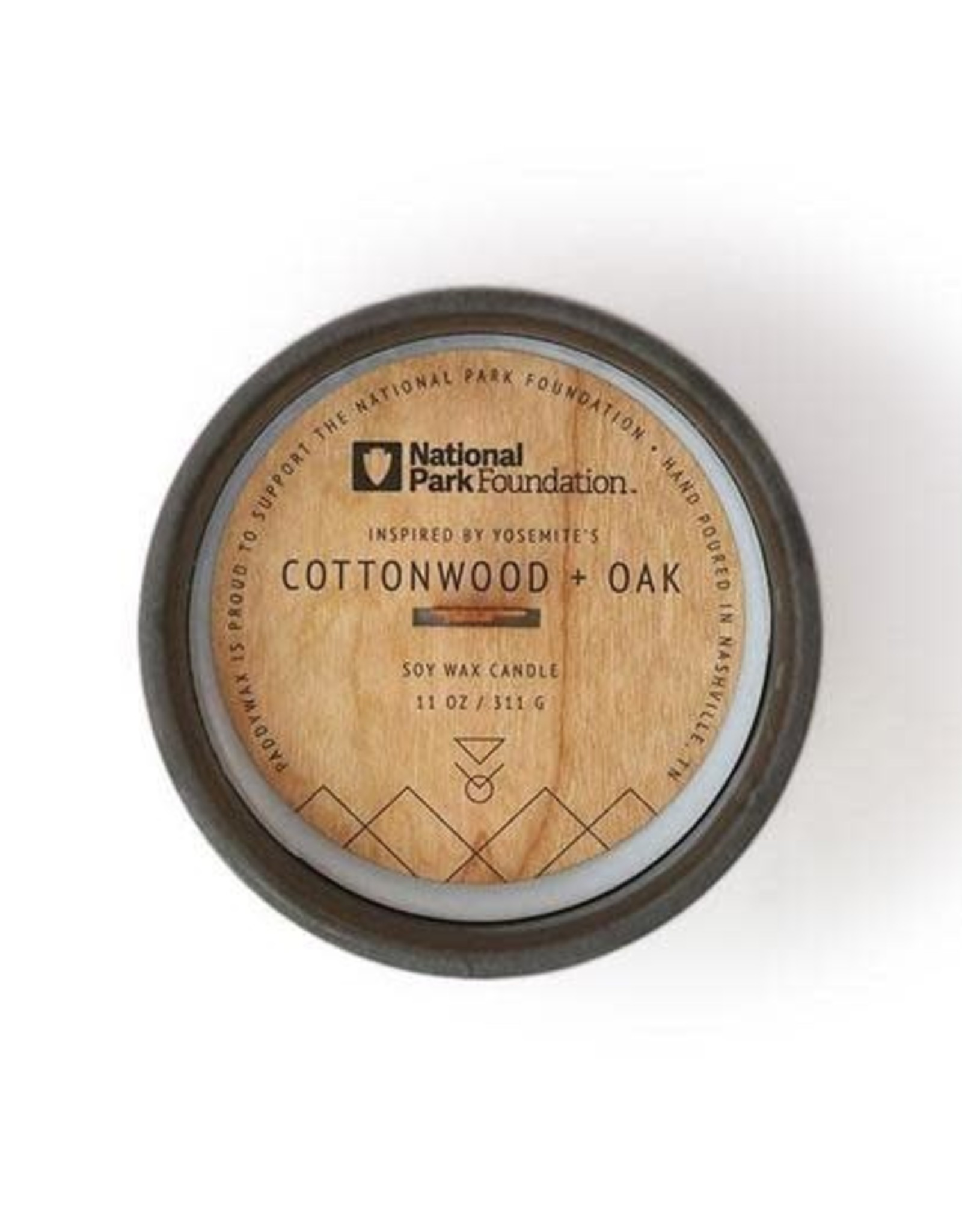 Bougie Cottonwood + Oak 11oz