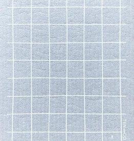 Sponge Cloth Grid Gris - Grey