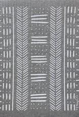 Ten and Co. Sponge Cloth Mudcloth Gris - Gray