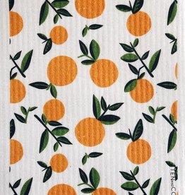 Ten and Co. Chiffon Éponge - Oranges