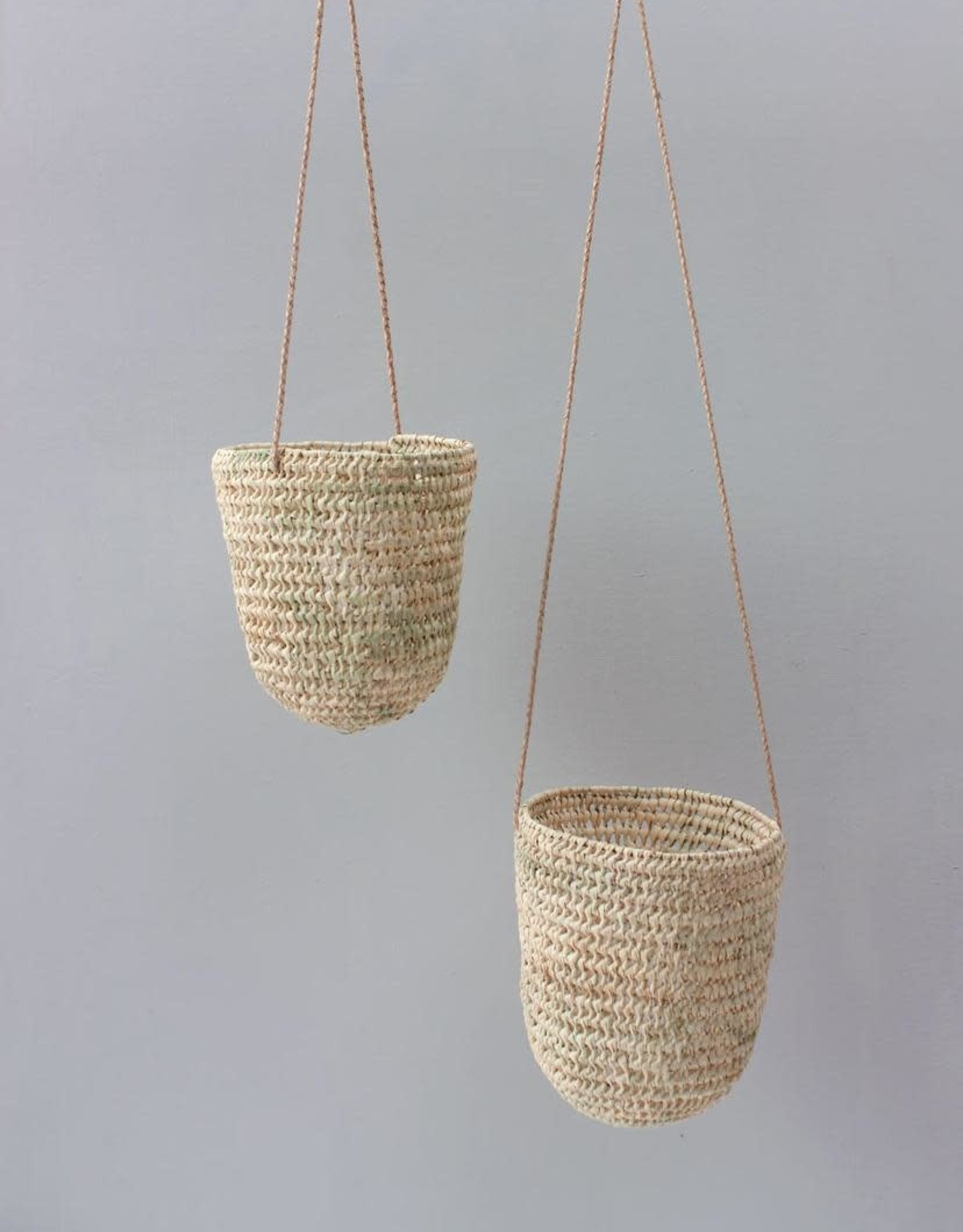 Open Weave Dome Hanging Basket