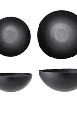 Embossed Black Bowl