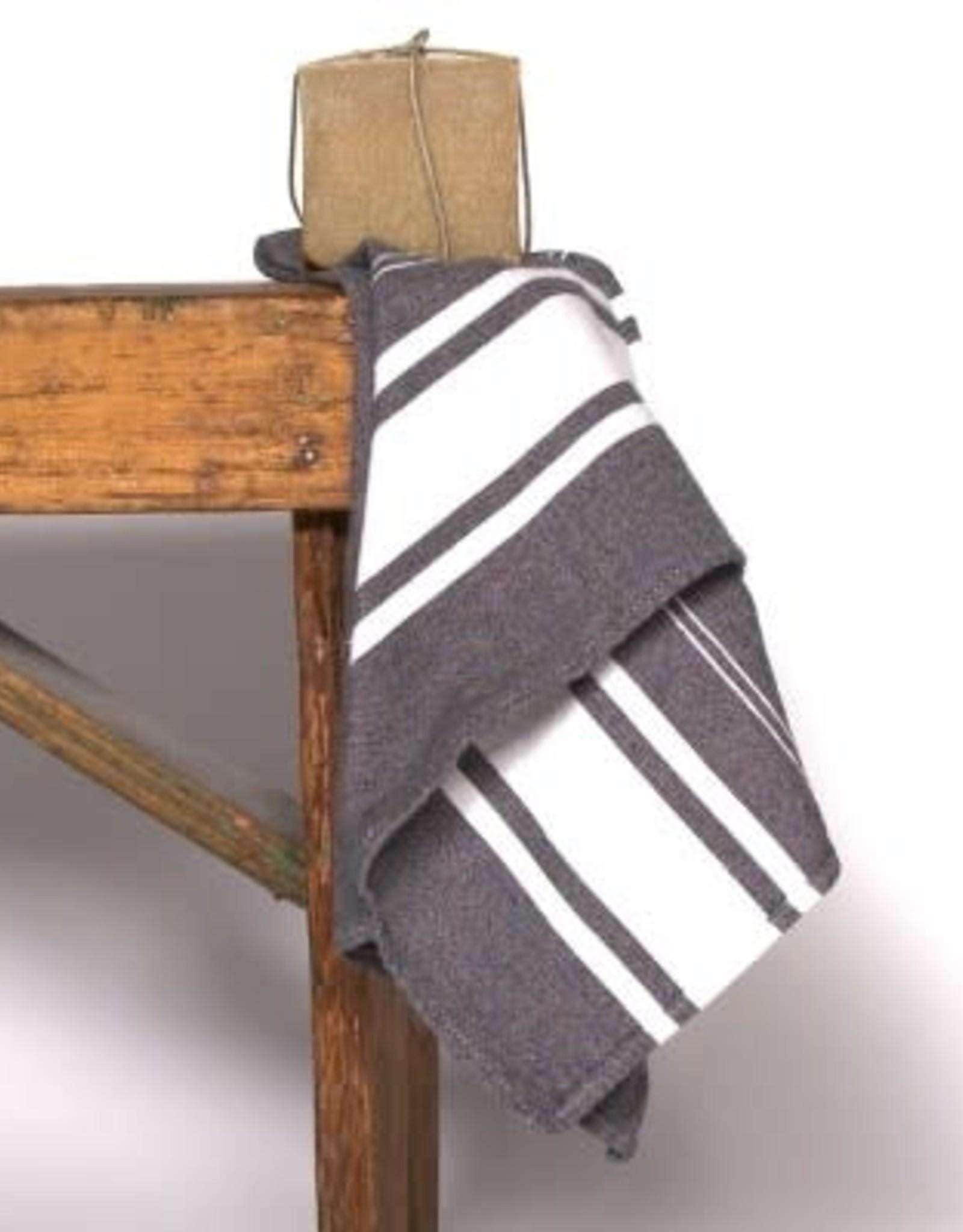 Famille Nomade Hand Towel - Dark Gray
