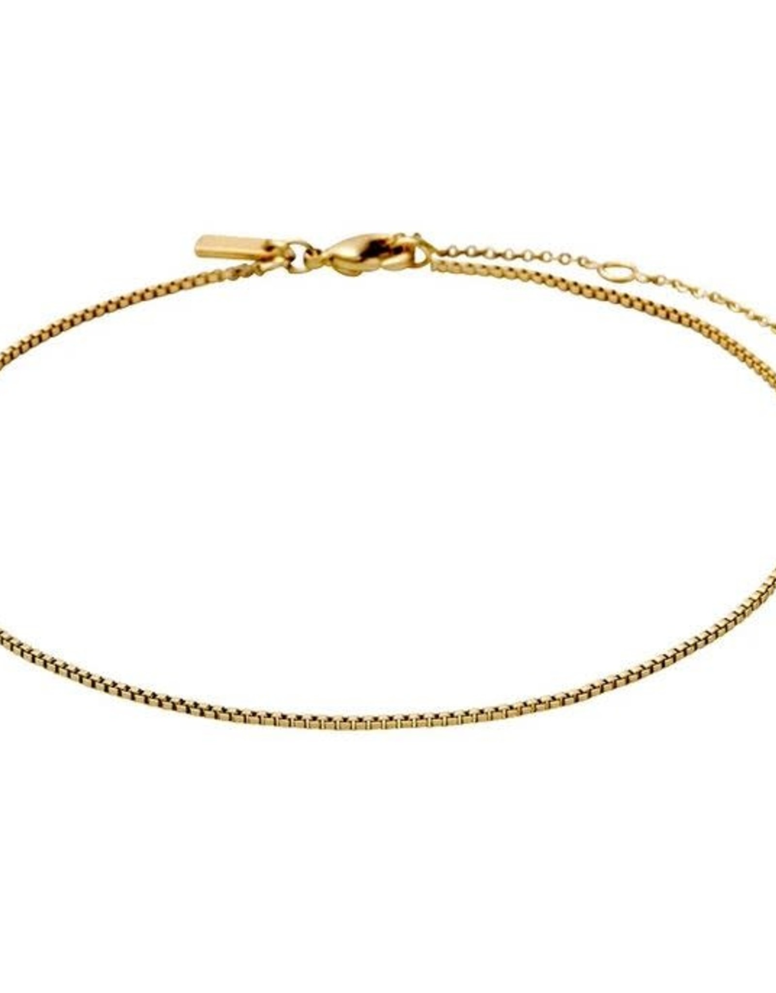 Pilgrim Ankle Chain - Gold Plated