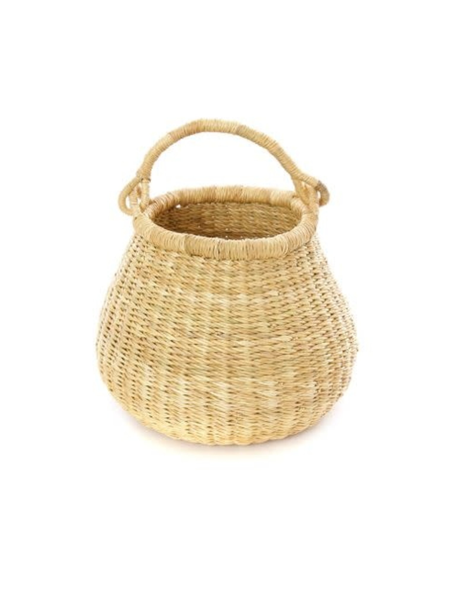 Natural Baby Ghanaian Kettle Basket