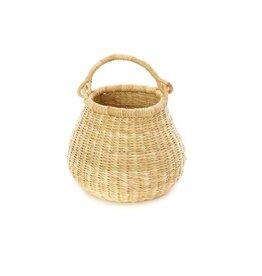Natural Baby Ghanaian Kettle Basket