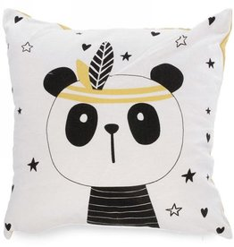 Coussin Ours avec Plume