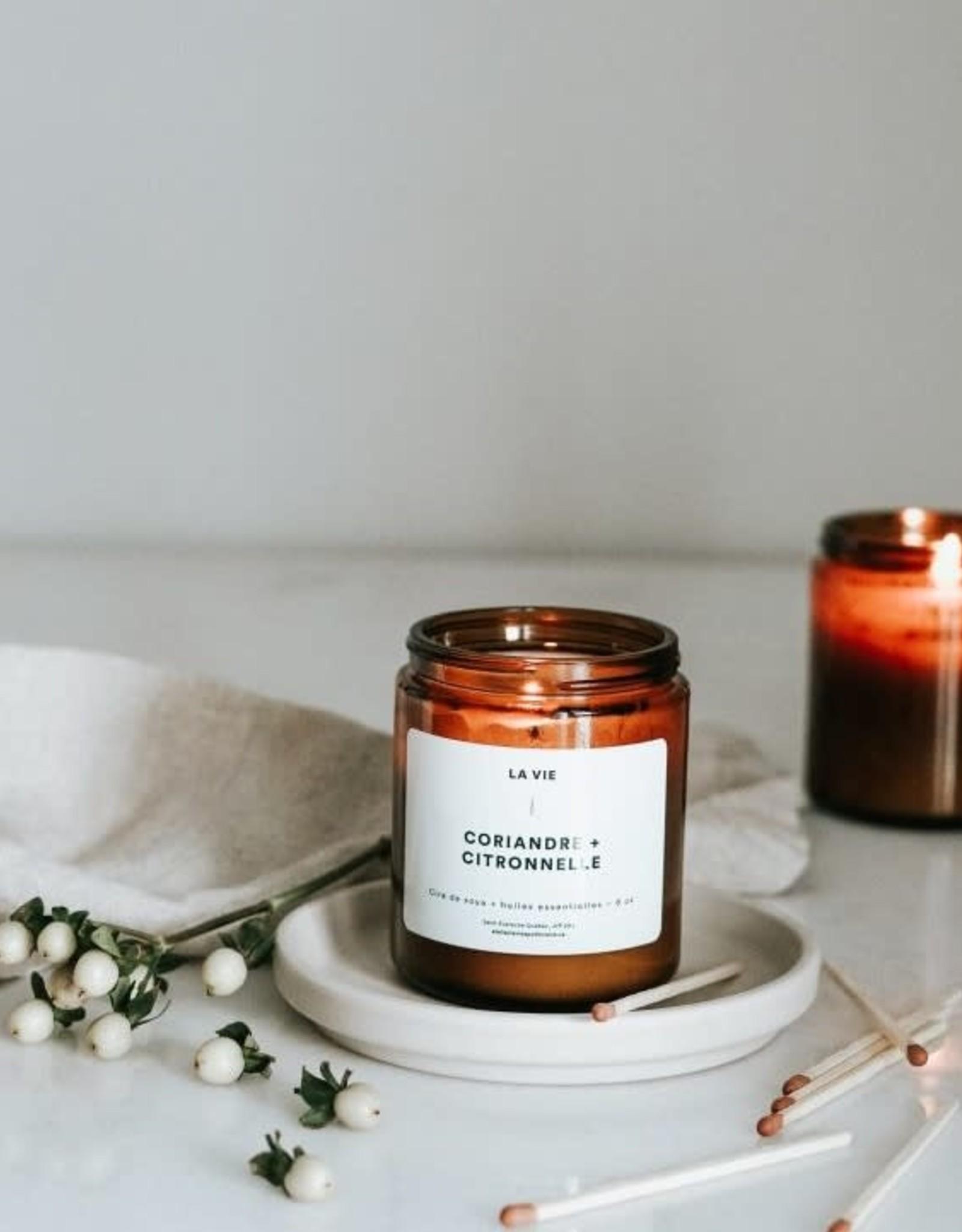 Atelier La Vie Apothicaire Candle - Coriander/Citronella