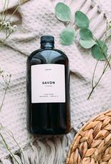 Atelier La Vie Apothicaire Savon Recharge 1L - Cyprès/Petit Grain