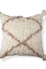 Diamond Shag Pillow