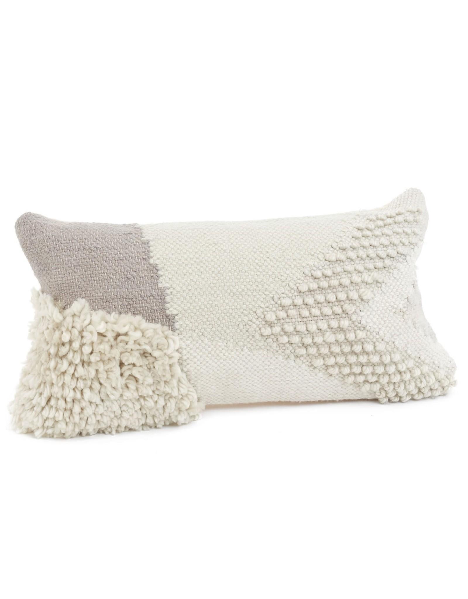 Muller Wool Cushion 12x22