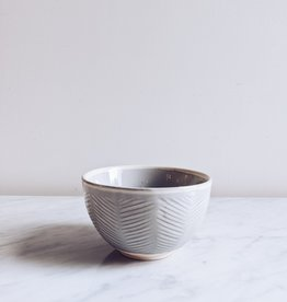 Stoneware Bowl - Grey