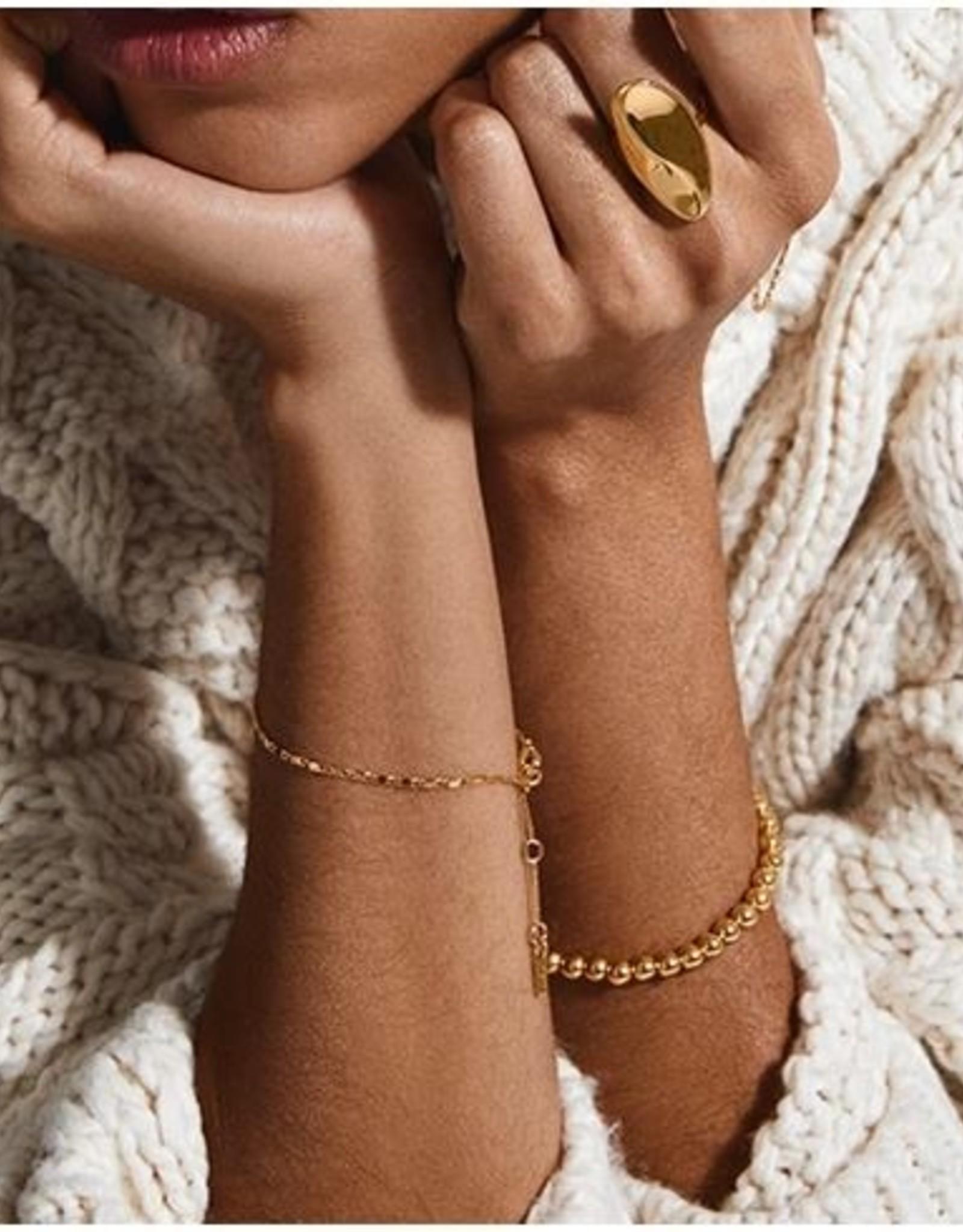 Pilgrim Bracelet Mabelle - Plaqué Or
