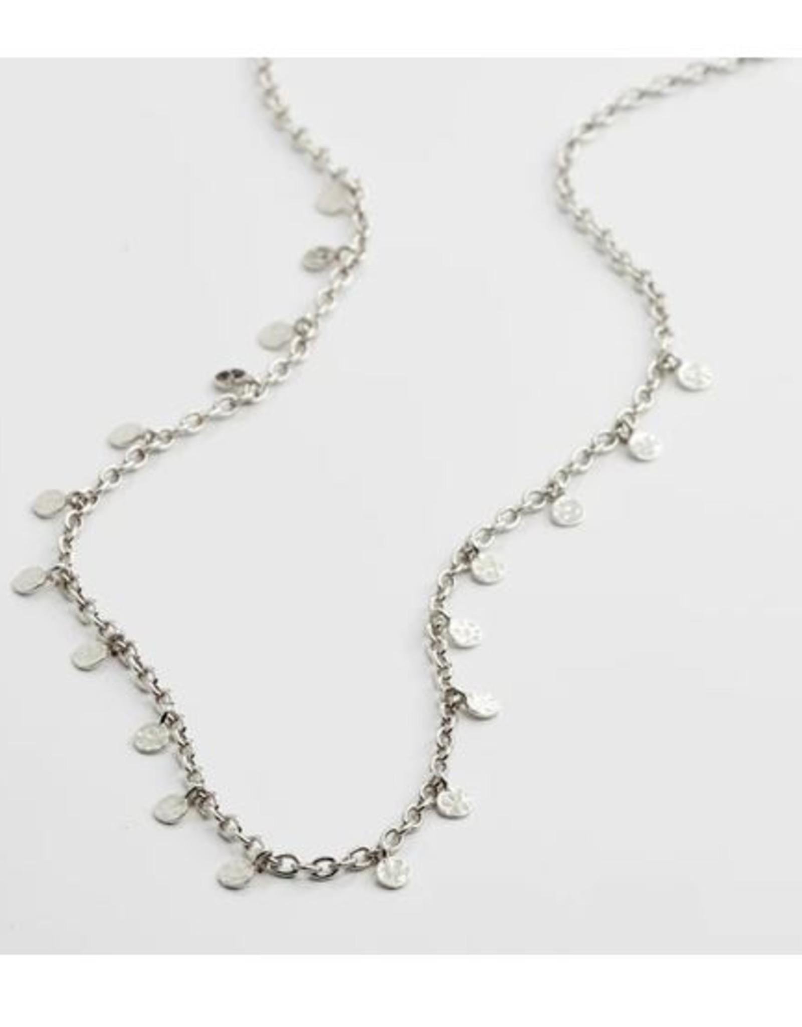 Pilgrim Necklace Panna - Plaqué Argent
