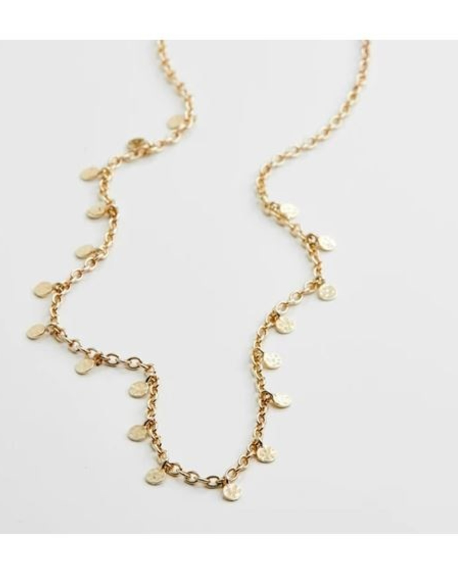 Pilgrim Necklace Panna - Gold Plated