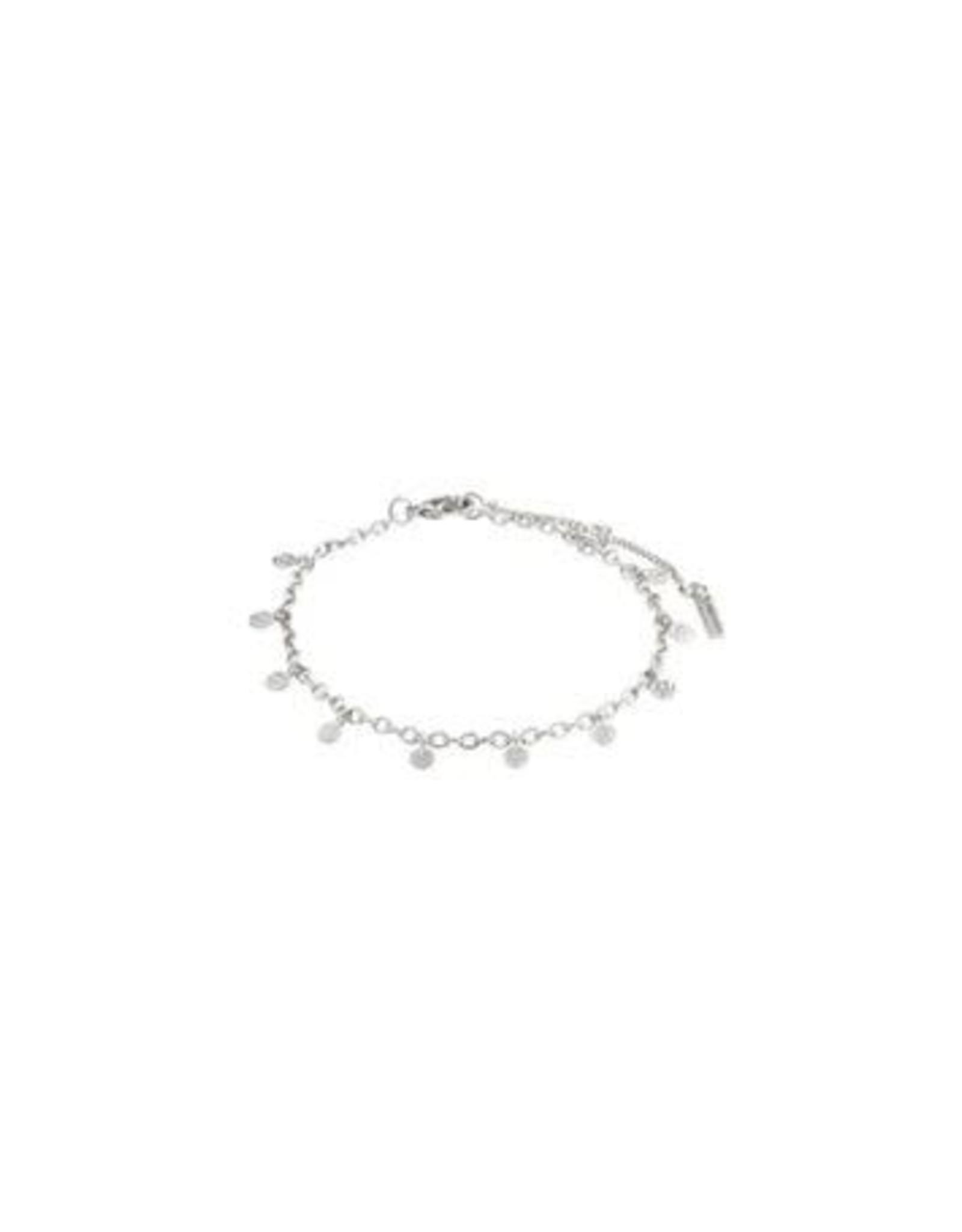 Pilgrim Bracelet Panna - Silver Plated