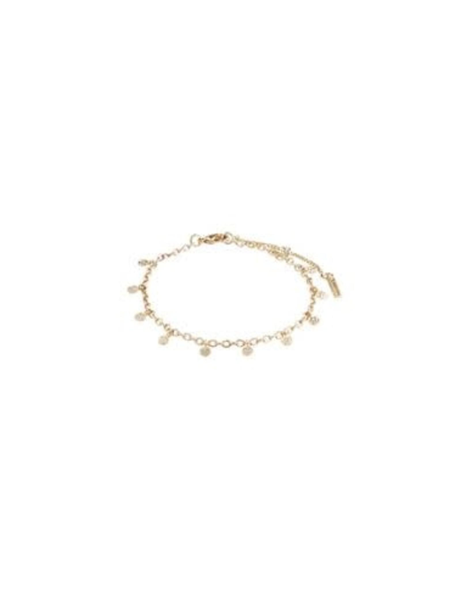 Pilgrim Bracelet Panna - Gold Plated