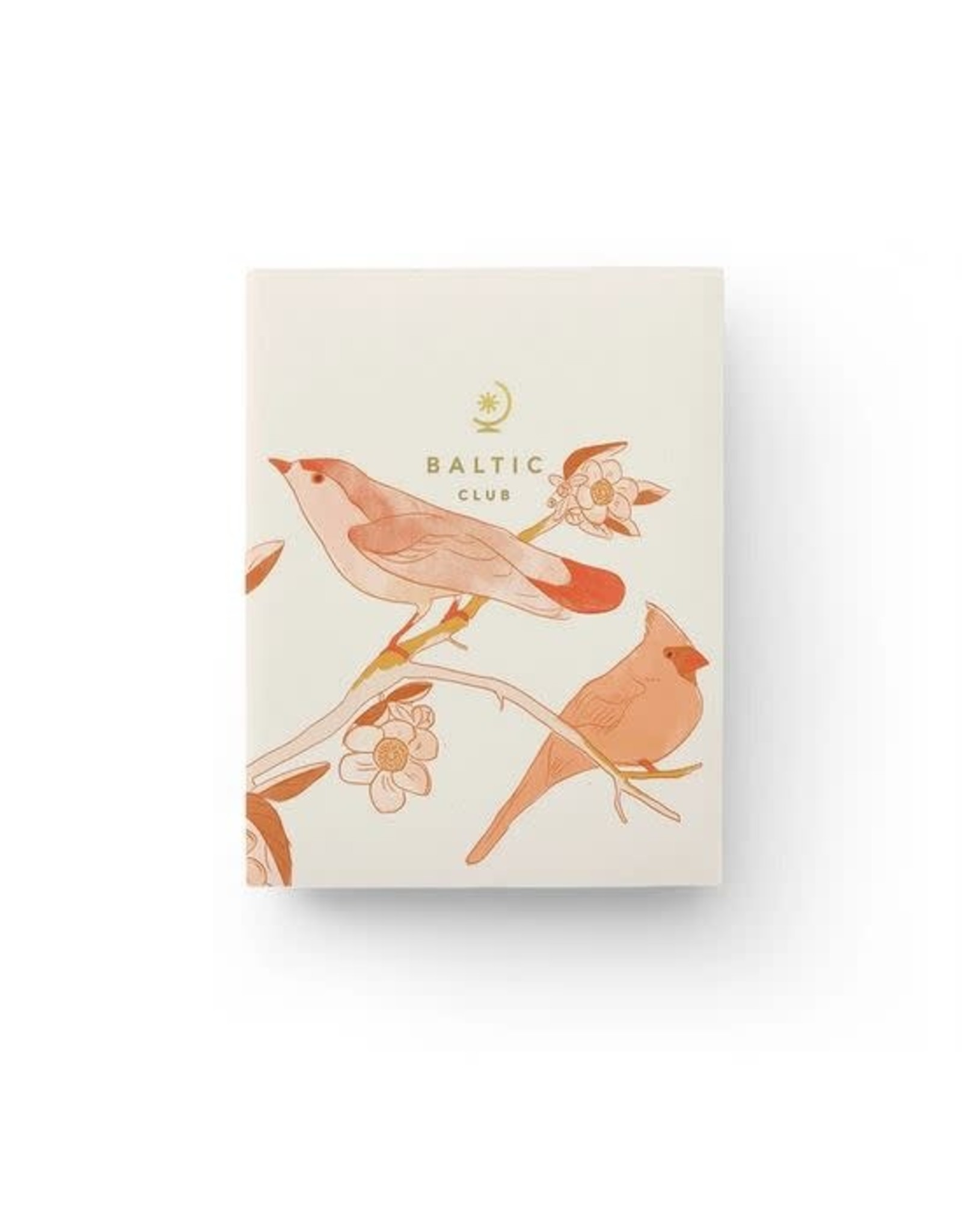 Baltic Club Pocket Notebook - Birds