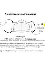 Augustin & Co Masque Adulte - Motif