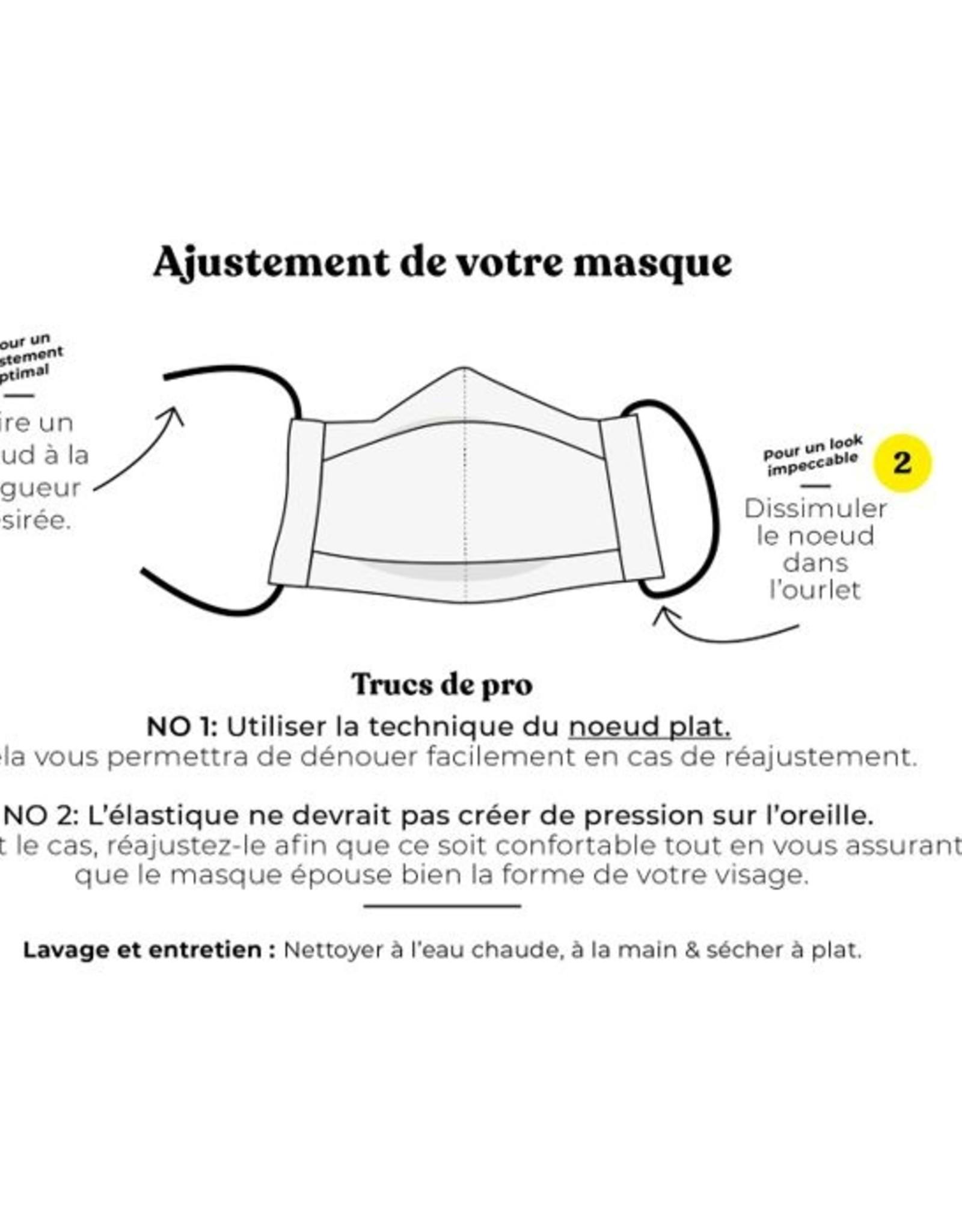 Augustin & Co Mask - Adult Plain Color