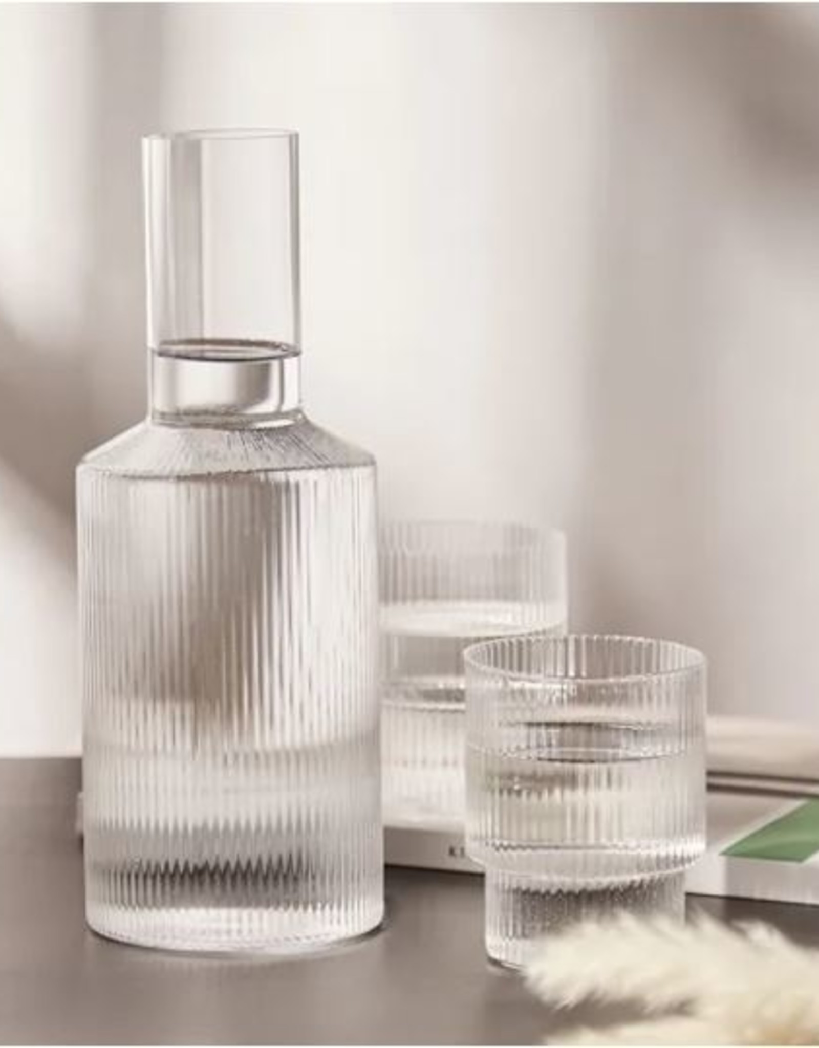 Ferm Living Carafe Ripple