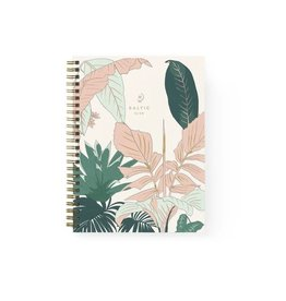Baltic Club Spiral Notebook - Florida Flora