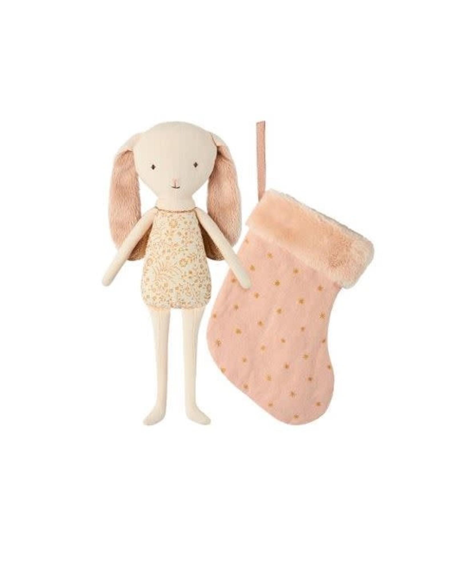 Maileg Bunny Angel in Stocking