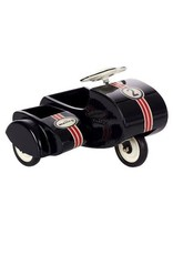 Maileg Black Scooter w/ sidecar, metal