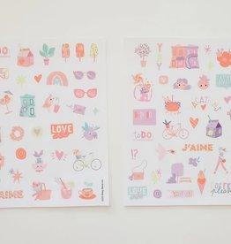 Hey Maca Sticker Sheets