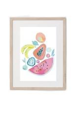 Hey Maca Art Print - Frutas Venezolanas