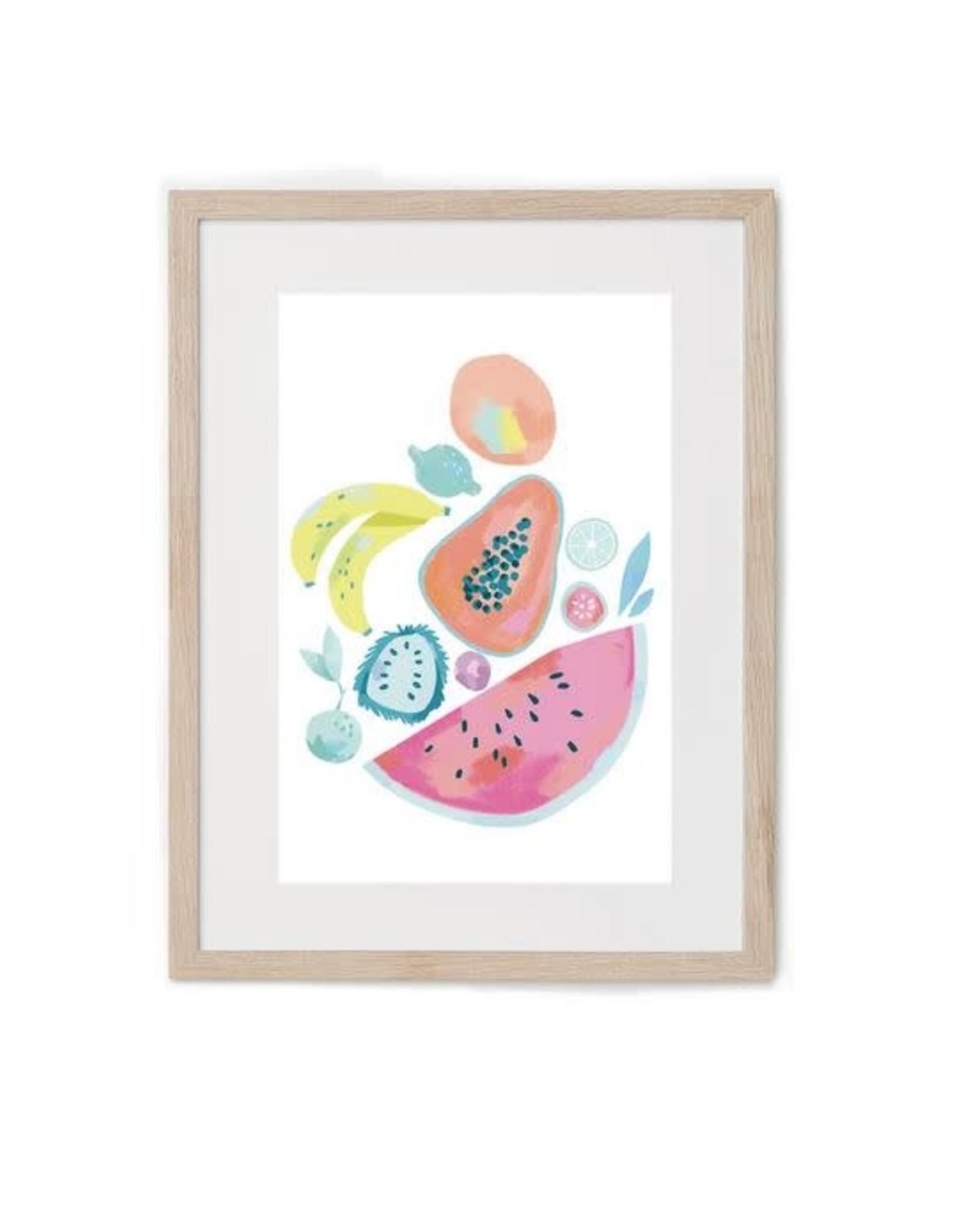 Hey Maca Affiche - Frutas Venezolanas