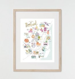 Hey Maca Art Print - Montreal Hidden Gems