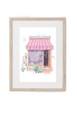 Hey Maca Art Print - Flower Shop
